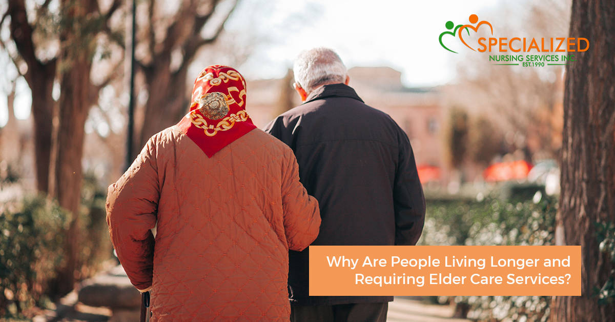 why are people-living-longer and requiring more elder care services